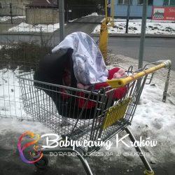 Babywearing fotelik samochodowy 2
