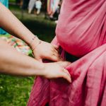 indywidualne dobieranie chusty do noszenia noworodka