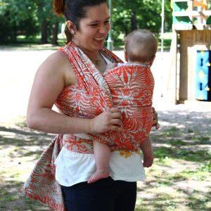 Babywearing KIESZONKA