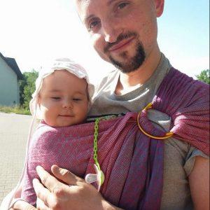 tata nosi doradca noszenia Kraków