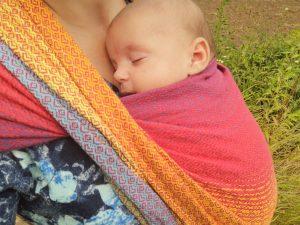 chusta na lato dla noworodka 3