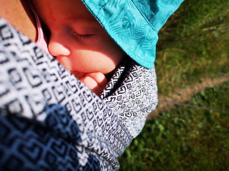 chusta na lato dla noworodka